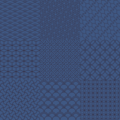 Cheaterquilt dark blue