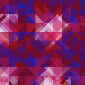 Red and Blue Tessellation