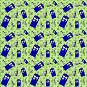 Police Box Attack 4-Leaf Clover Stripe -6/6.01/150