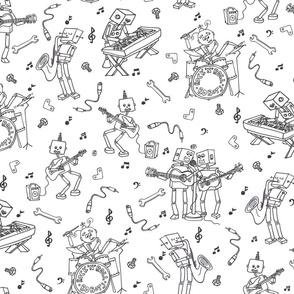 Rock'n'Roll Robots