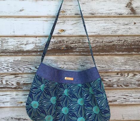Navy Impatiens Floral_Miss Chiff Designs