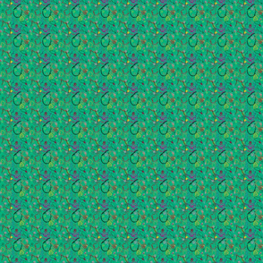 Colourful Art - green