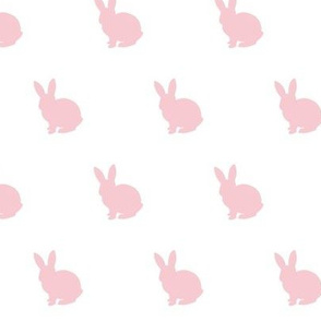 Pink bunny solid