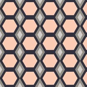 Pink Hexies