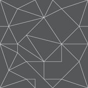 Line Origami Grey
