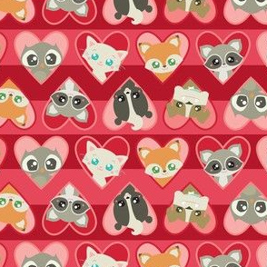 Valentine Animal Faces