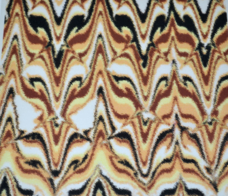 Marbleized Fox Camouflaged Golden