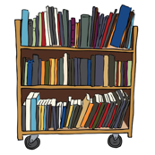 Bookcarts at the Library