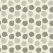 Vintage Dots Small Scale Chevron Dots
