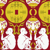 Year of the Monkey_2016 Art Deco Style