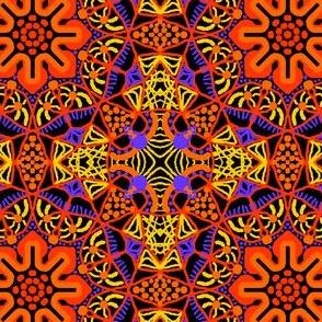 Orange Posy