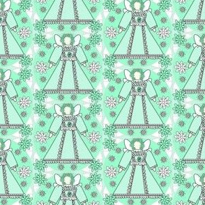 Fairies and Flowers Fabric #2