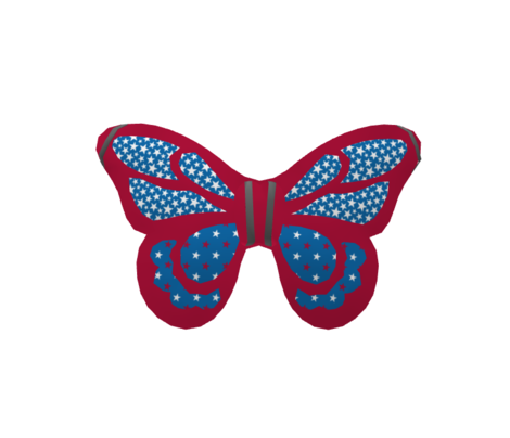 Americana Small Stars - Blue