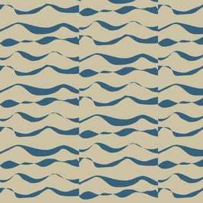 Waves XL denim on khaki 2015