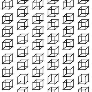 3D Monochrome Boxes