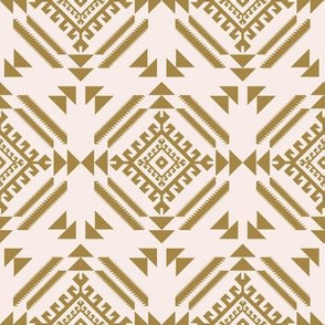 lion_tribal_pink_and_gold