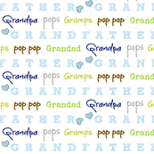 Grandfather - blue crush hearts