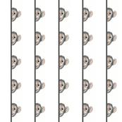 baseball monkey grimace