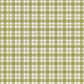 Olive Green Plaid