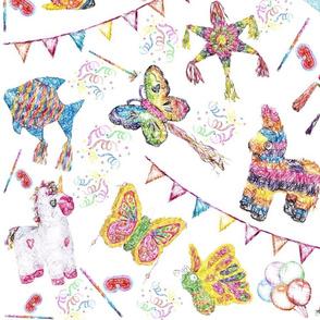 Pinata party Birthday Celebration