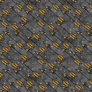 One Color Golden Arrows