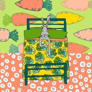 quilt block 2 of 2: dream hare