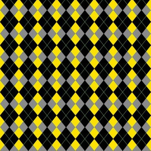1:6 Scale Lemon Contrast Argyle