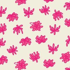 cactus flowers (fuchsia)