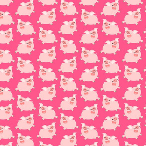 Cheerful Little Pigs by Cheerful Madness!!