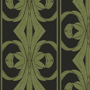 Green Ribbon Floral