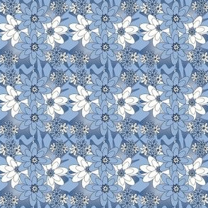 Beautiful Flowers Fabric #1