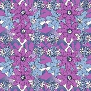 Beautiful Flowers Fabric #3