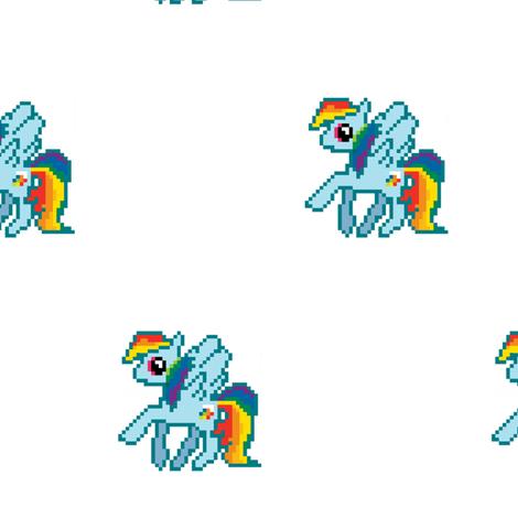 Rainbow Dash Pixel