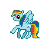 Rainbow Dash Pixel