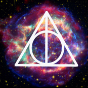 Deathly Hallows Galaxy - Purple