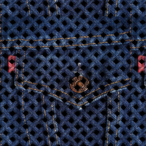 Basketweave Denim