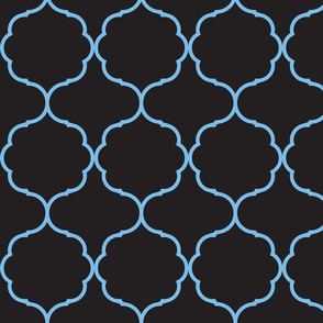 Hexafoil Black and Blue