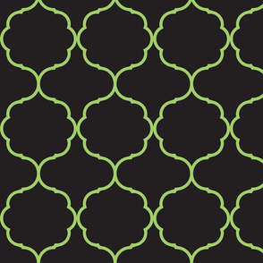 Hexafoil Black and Green