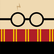 Minimalist Harry Potter Pillow Kit
