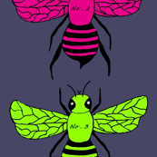 Beck's numbered bright Bees