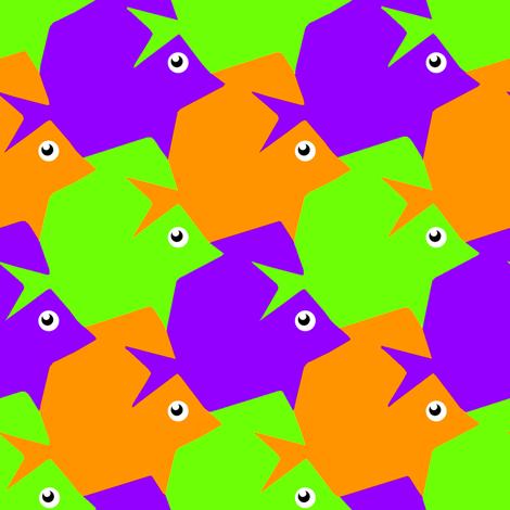 Tesselating Fish Secondary Colors