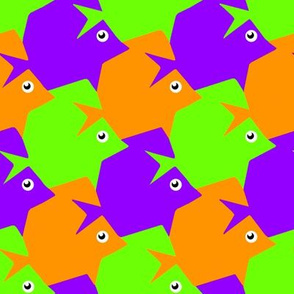 Tesselating Fish Secondary Colors