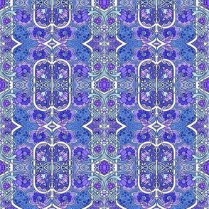 The Purple and Blue Flower Consortium