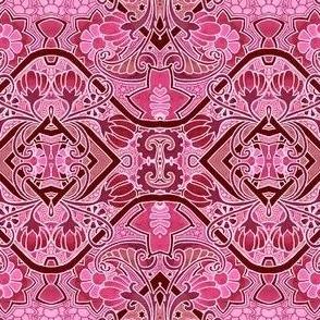 Hot Pink Flower Slink