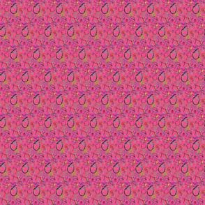 Colourful Art - Pink