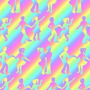 dance over the rainbow