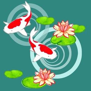 Twin Koi