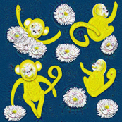 Lucky Monkeys Tripped Up