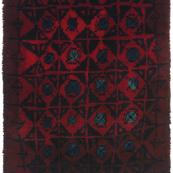 Kirsti Ilvessalo 'woodpecker' rug