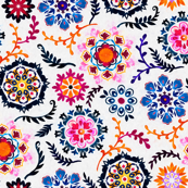 Happy Colors Suzani Inspired Flowers - small